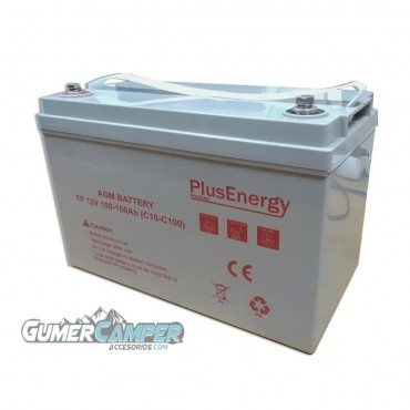 BATERÍA SOLAR PLUS ENERGY AGM 150Ah 12 V