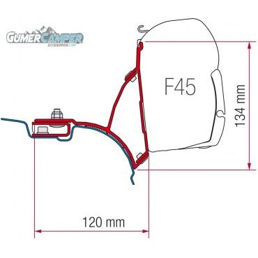 SOPORTE TOLDO F45 T5 MULTIVAN TRANSPORTER SIN GUIA